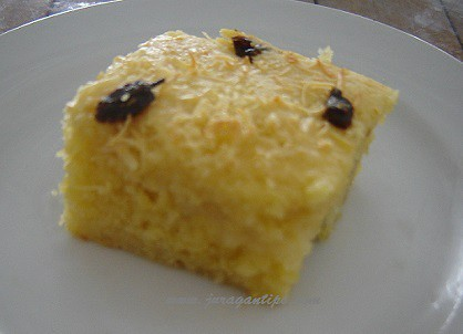 Resep Membuat Kue Tape Kelapa Muda Kismis Lezat